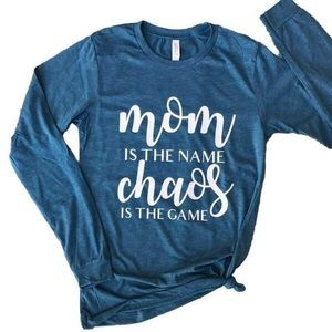 Tops - Mom is the Name tee